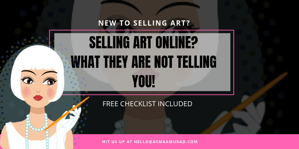 What they aren't telling about selling Art Online