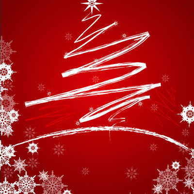 Christmas Background Free Vector Graphics