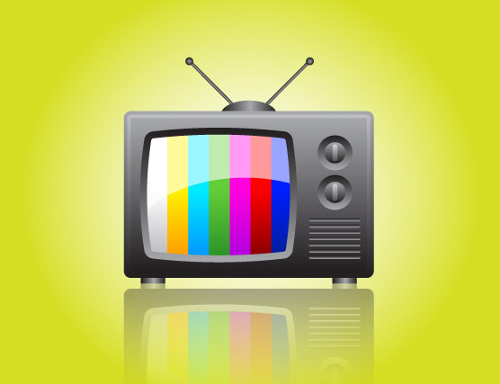 illustrator Tutorials : How to create a Television Icon