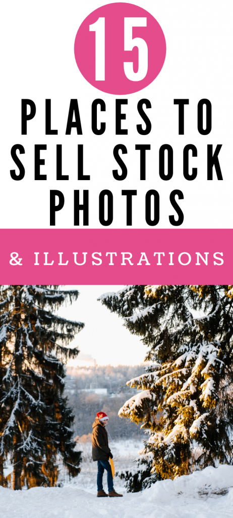 sell stock photos and illustrations