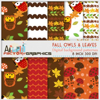 Fall halloween backgrounds and pattern textures