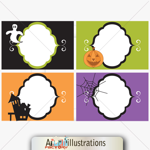 Halloween Clipart graphics for party decoration
