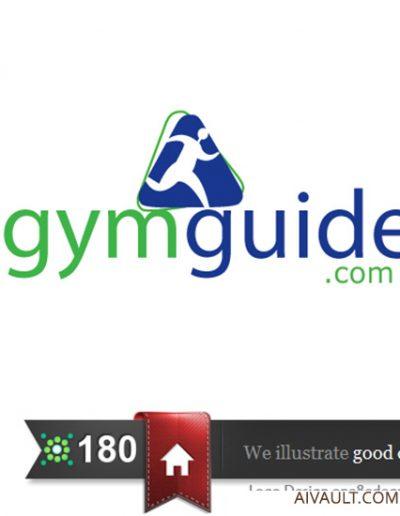 gymguidelogodesign