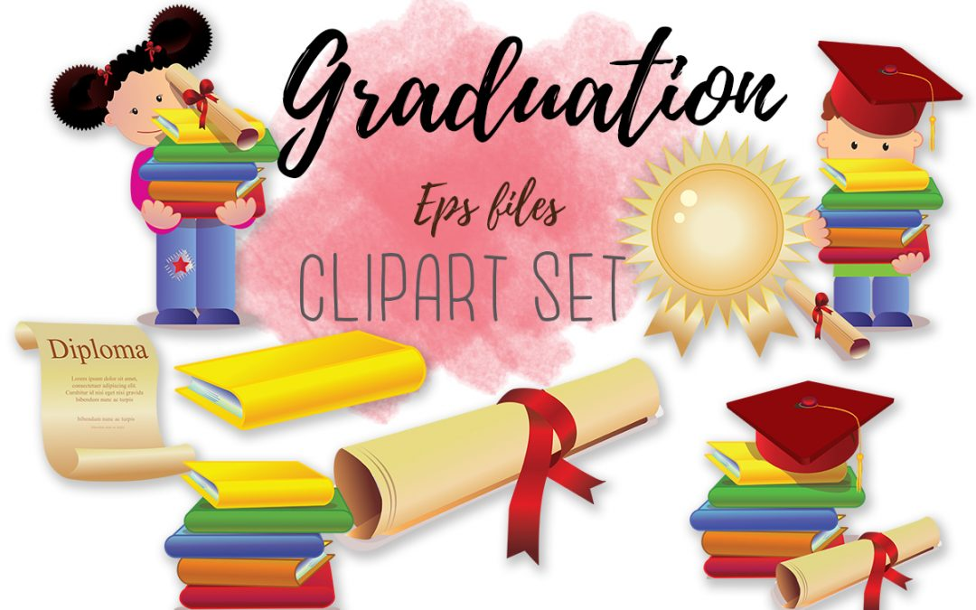 Graduation Clipart // Handpicked graphics and images