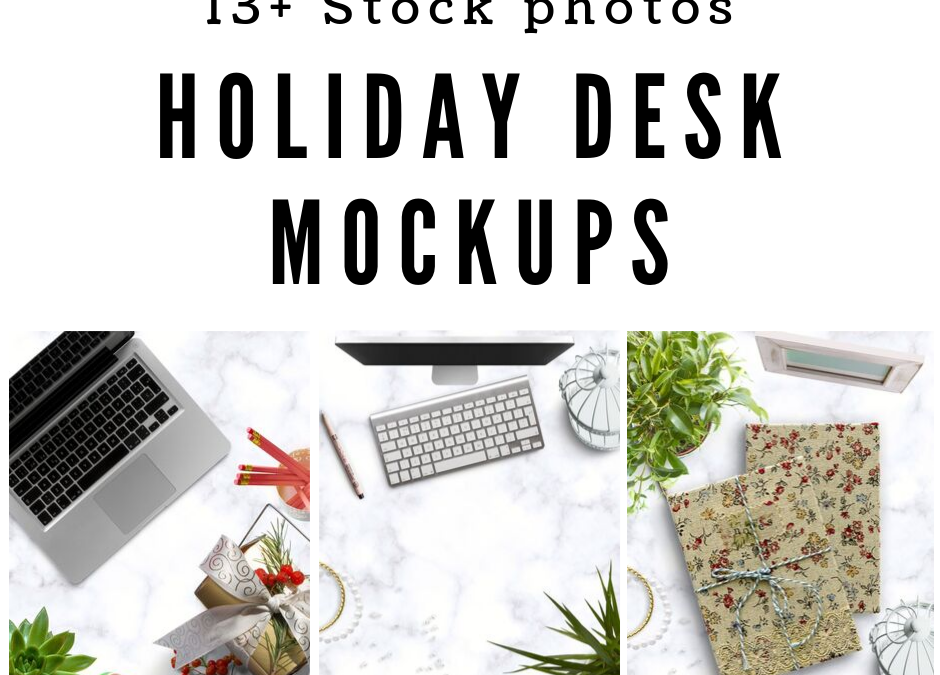 13+ Feminine Holiday Desk Stock Photo Mockup Backgrounds