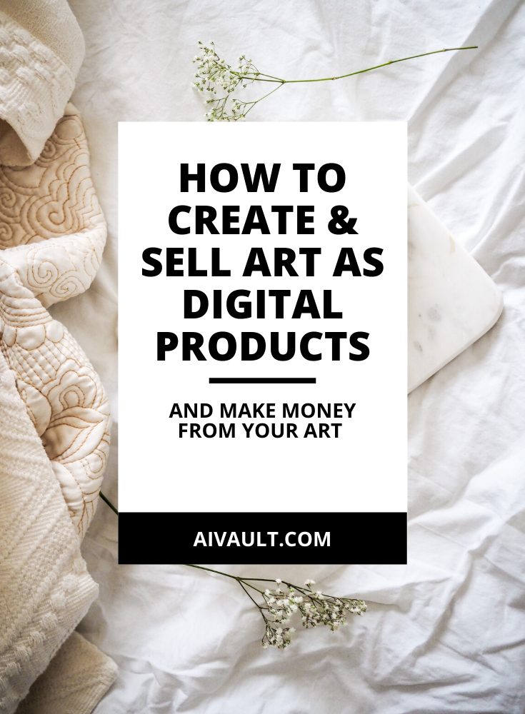 If you are seeking to make money from your art and by creating passive income while selling digital products and create a life of freedom here is a blog post that breaks it all for your. Perfect resource for how to sell art as digital products and make a constant flow of income out of it.