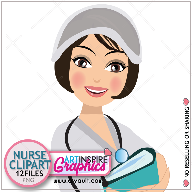 Nurse Clip Art Vector Clip Art Mask Clip Art