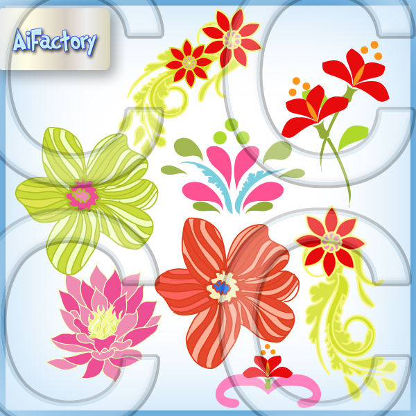 Flower Clipart Pngs