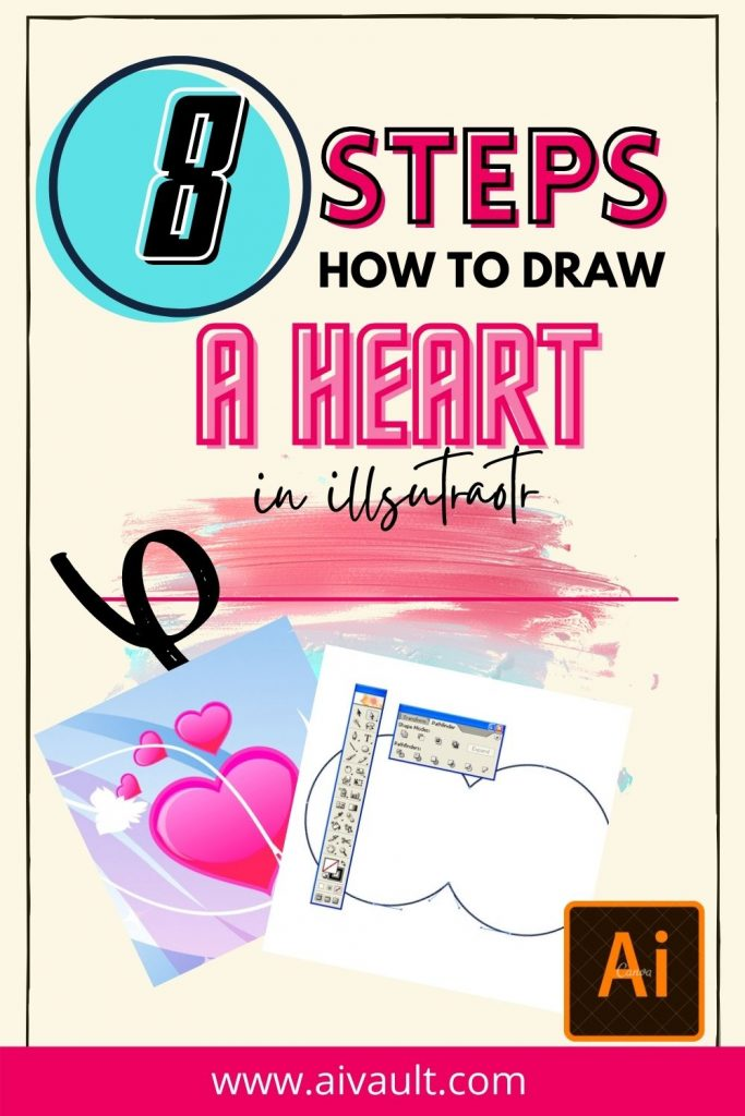 how to draw heart step by step